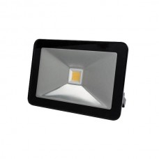 LED FLOOD LIGHT 30W ZWART, WARMWIT