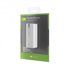 GP POWERBANK LI-ION 1C02A 2600MAH WIT